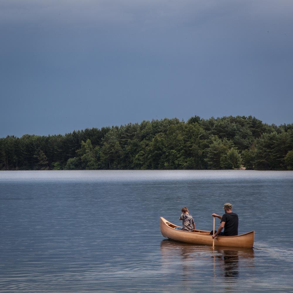 Freeranger Canoe - Malecite - a stable canoe for all-round use