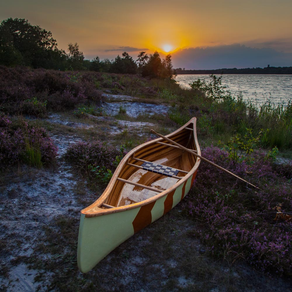 Atikamekw solo canoe | Freeranger Canoe
