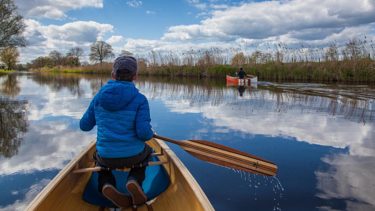 Freeranger canoe paddles