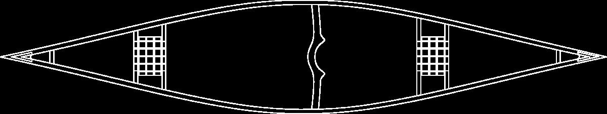 Malecite stable canoe