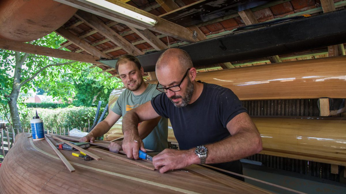Freeranger Canoe canoe building workshops