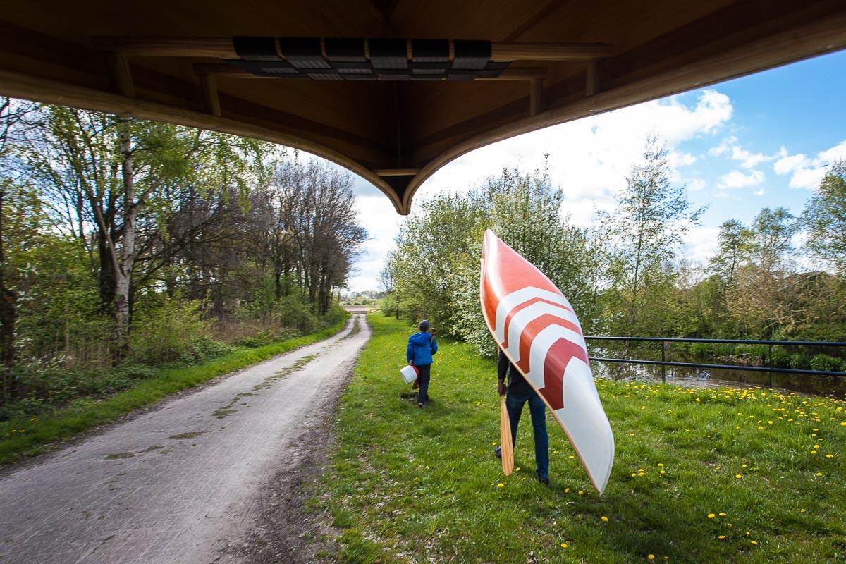 canoeing in Overijssel