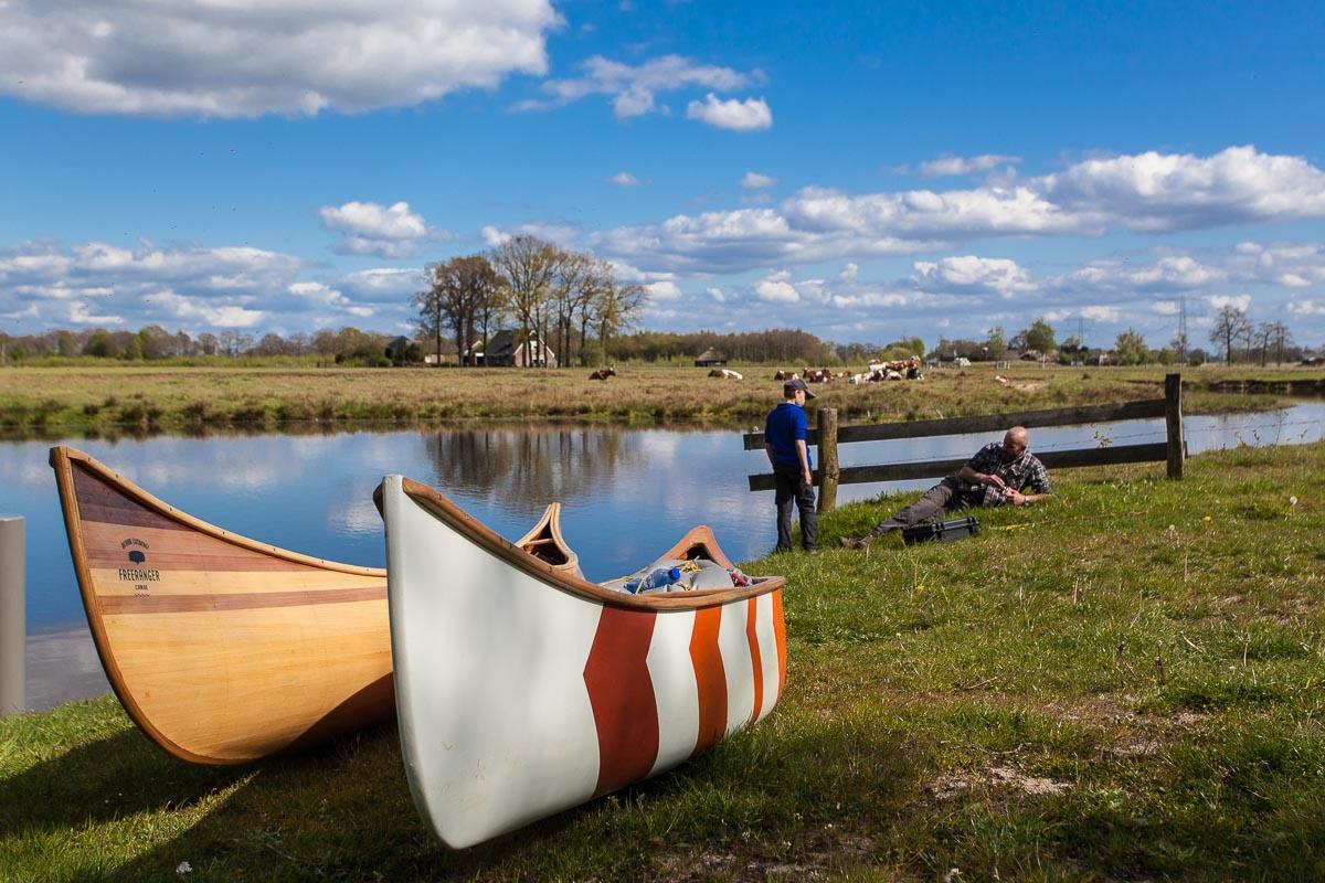 Freeranger Canoe kanovaren in Overijssel