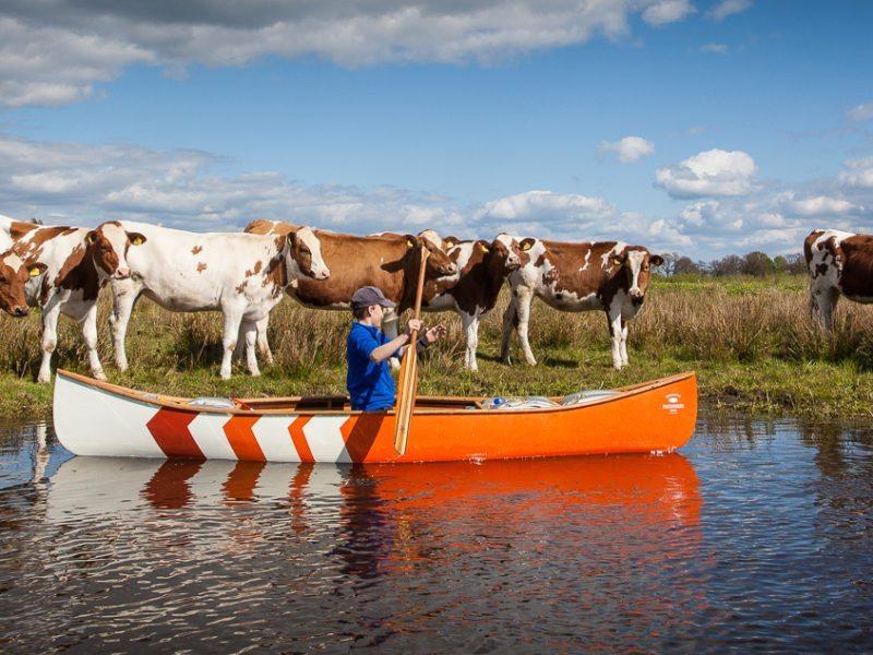 Canoeing in Overijssel – the Regge River