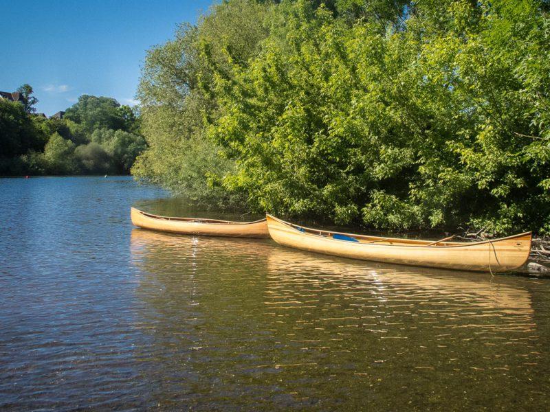 Een kano kiezen