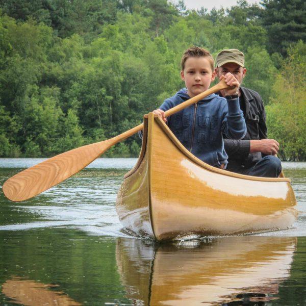 Malecite all-round canoe
