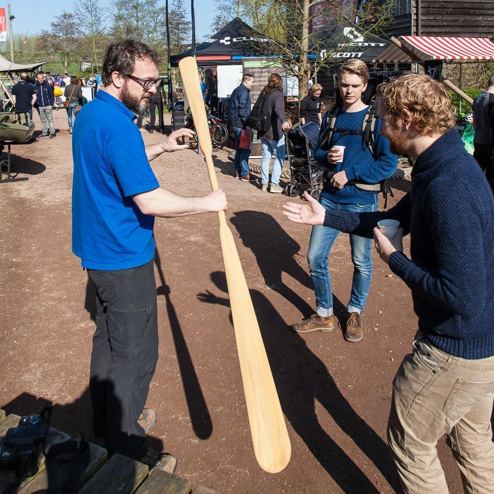 Greenland paddle workshop