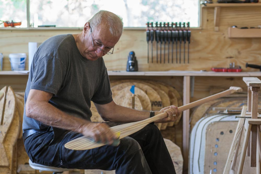 Freeranger Canoe Making your own laminated wooden canoe paddle