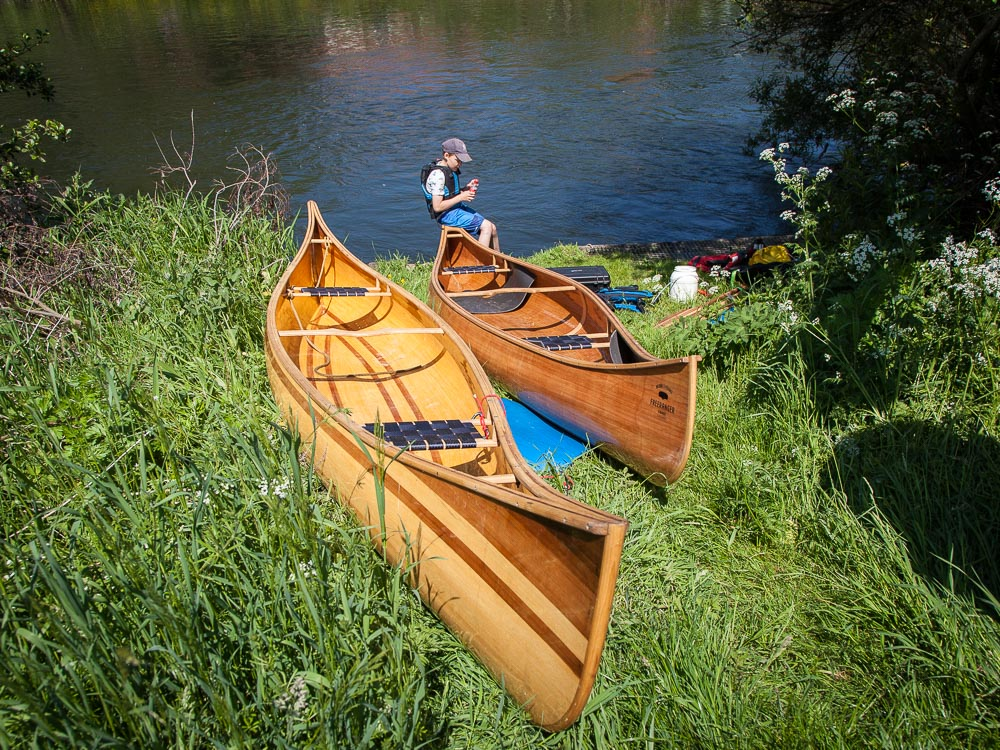Freeranger Canoe Canoeing the Ruhr River