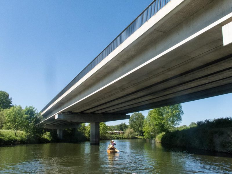 Canoeing the Ruhr River