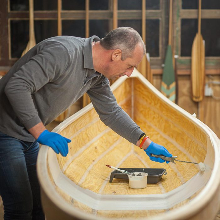 Freeranger Canoe building a stitch and glue canoe