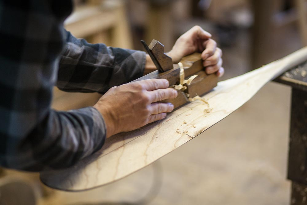Freeranger Canoe Making a beavertail canoe paddle