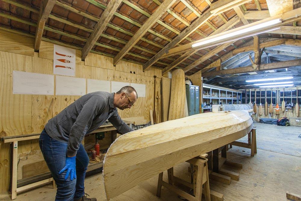 Freeranger Canoe building a stitch and glue canoe