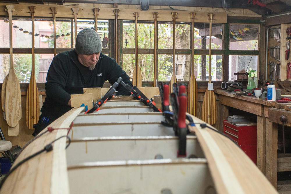 Freeranger Canoe building a wooden canoe