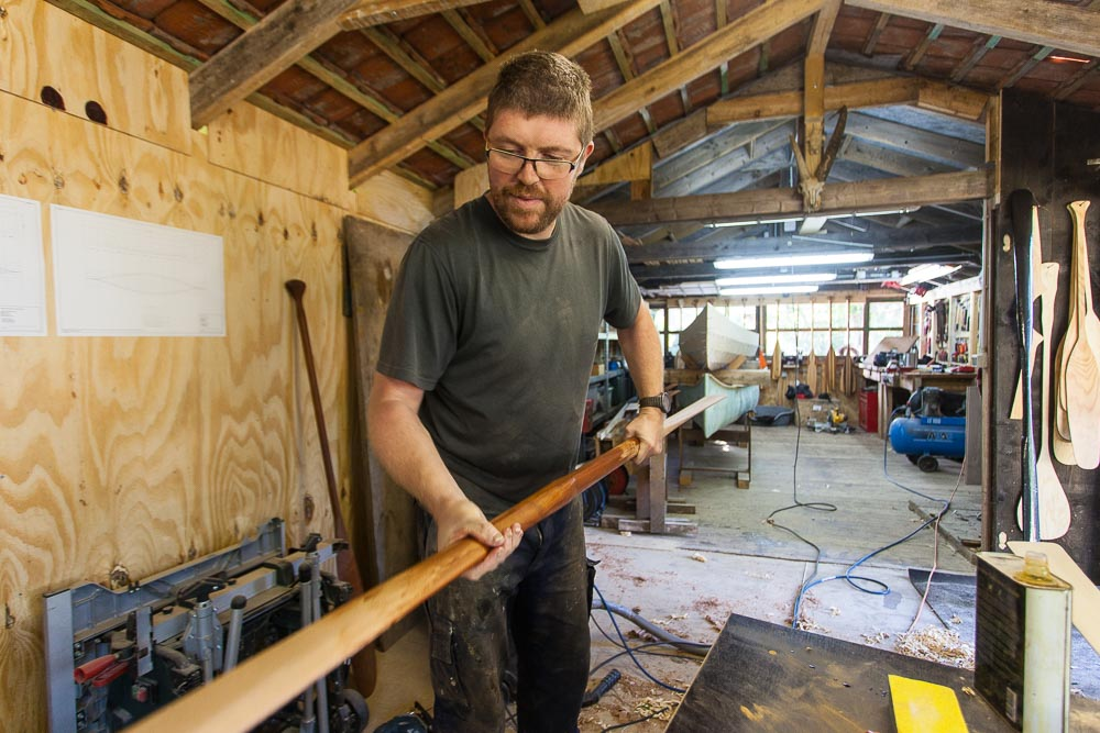 making a Greenland paddle