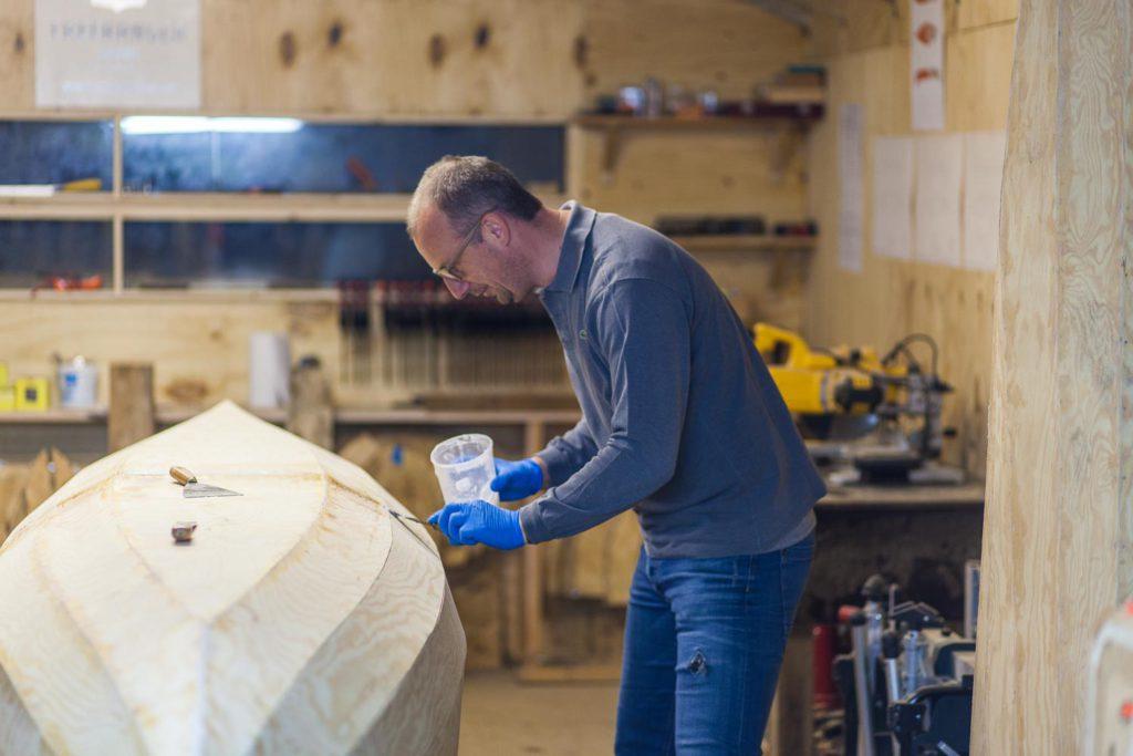 Freeranger Canoe een stitch en glue kano bouwen