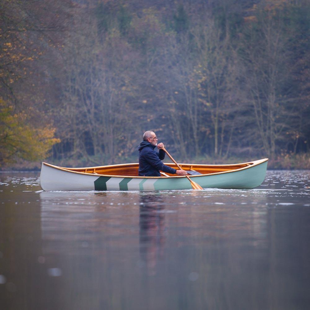 Freeranger canoe Abenaki river canoe