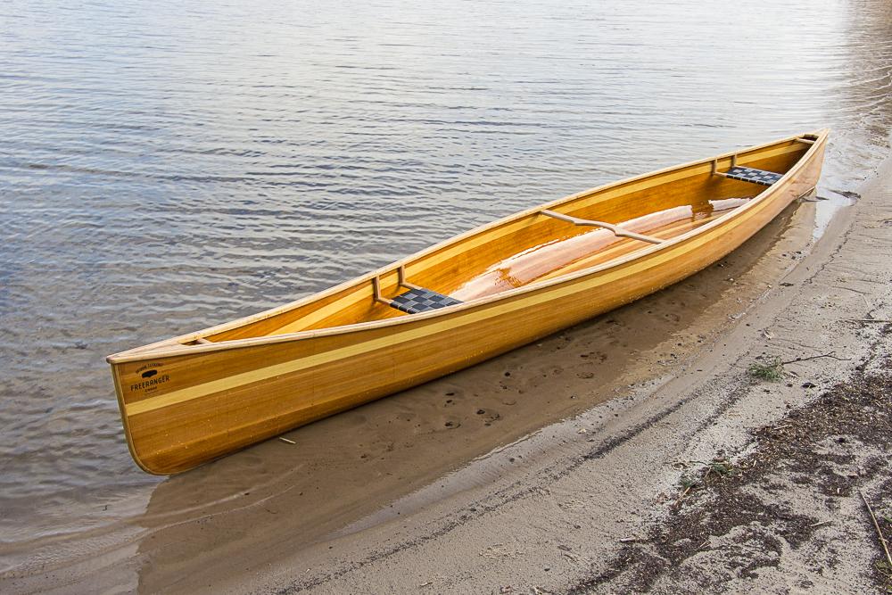 Freeranger canoe, een houten kano bouwen