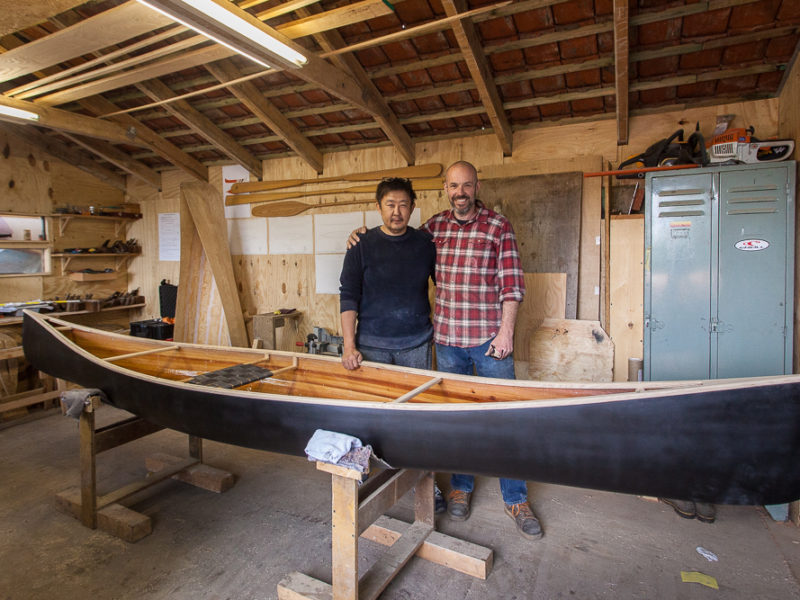 10-day Wooden Canoe Building Course