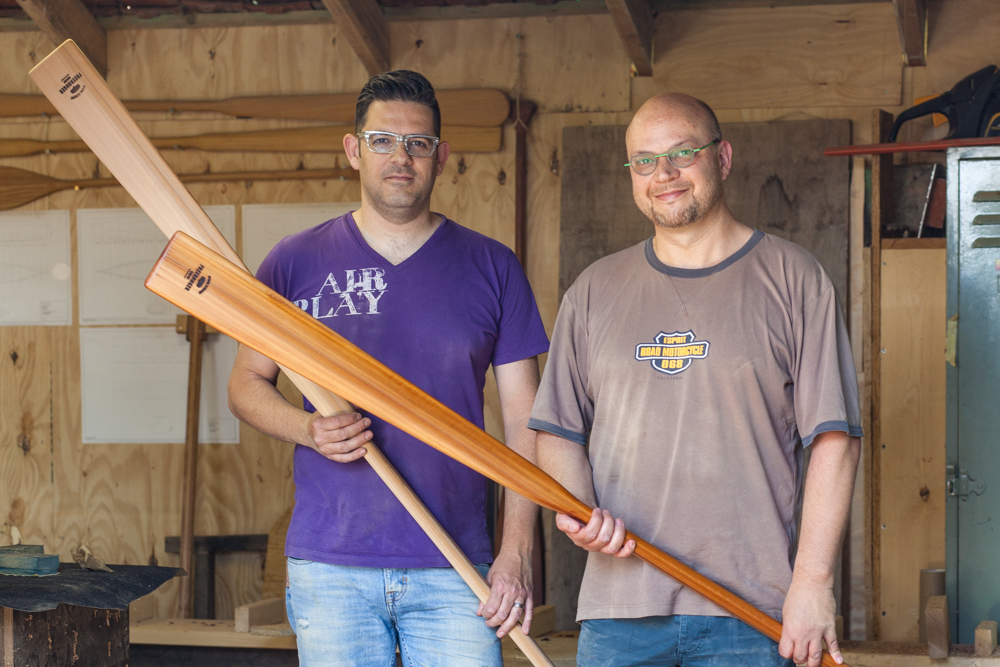 Workshop Greenland kayak paddle