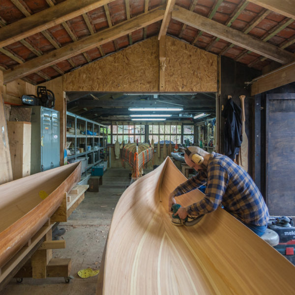 Freeranger Canoe 10 day canoe building course