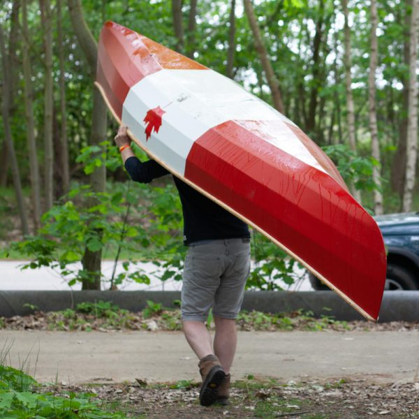 Freeranger Canoe Stitch and Glue canoe plan
