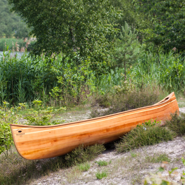 Abenaki duo canoe