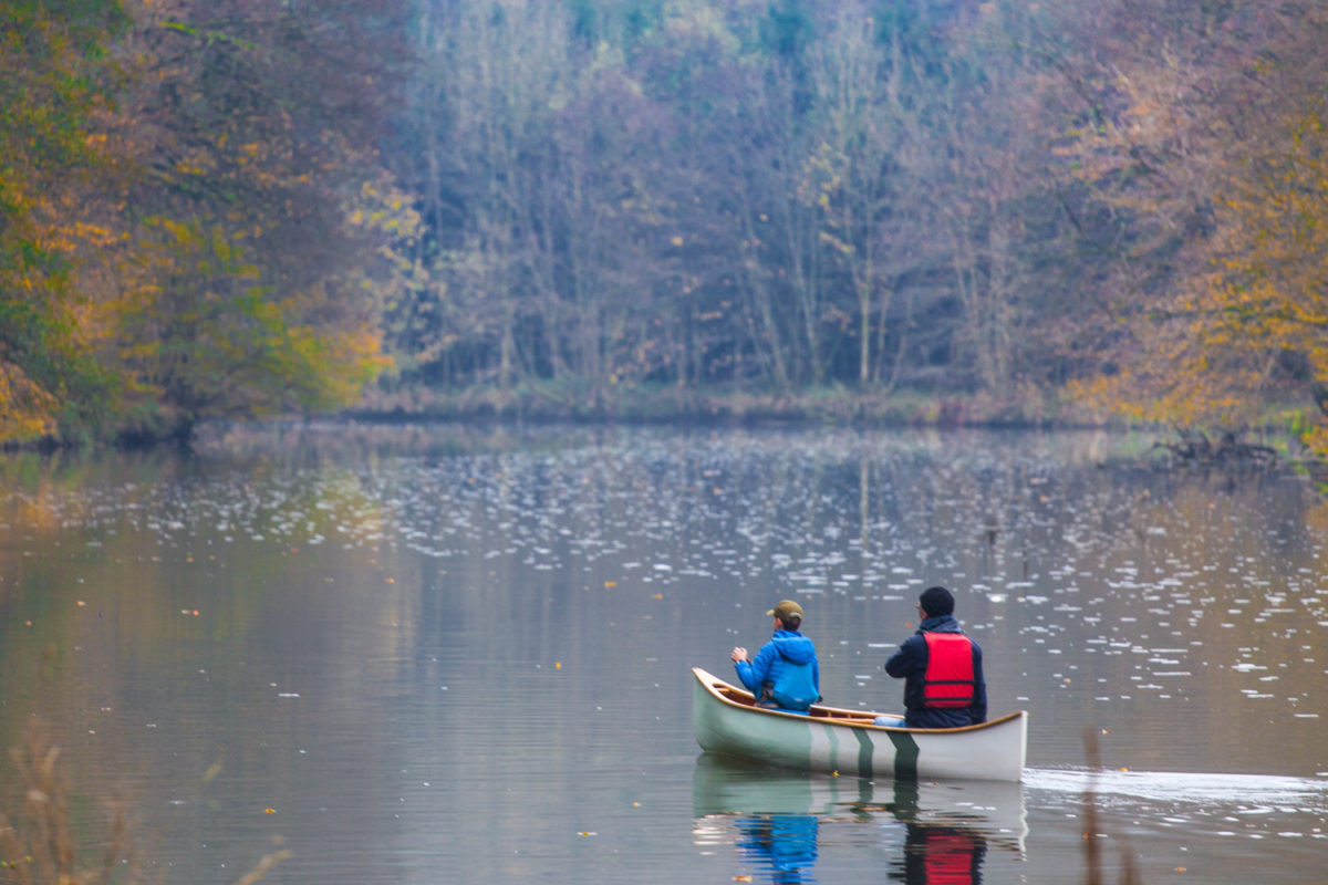 Canoeing on the Semois
