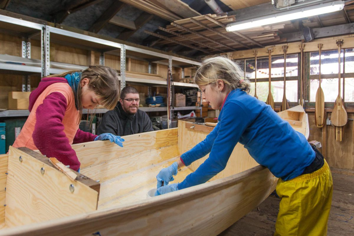 Freeranger Canoe Building a plywood canoe