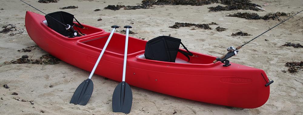Freeranger canoe een kano kopen een polyethyleen kano