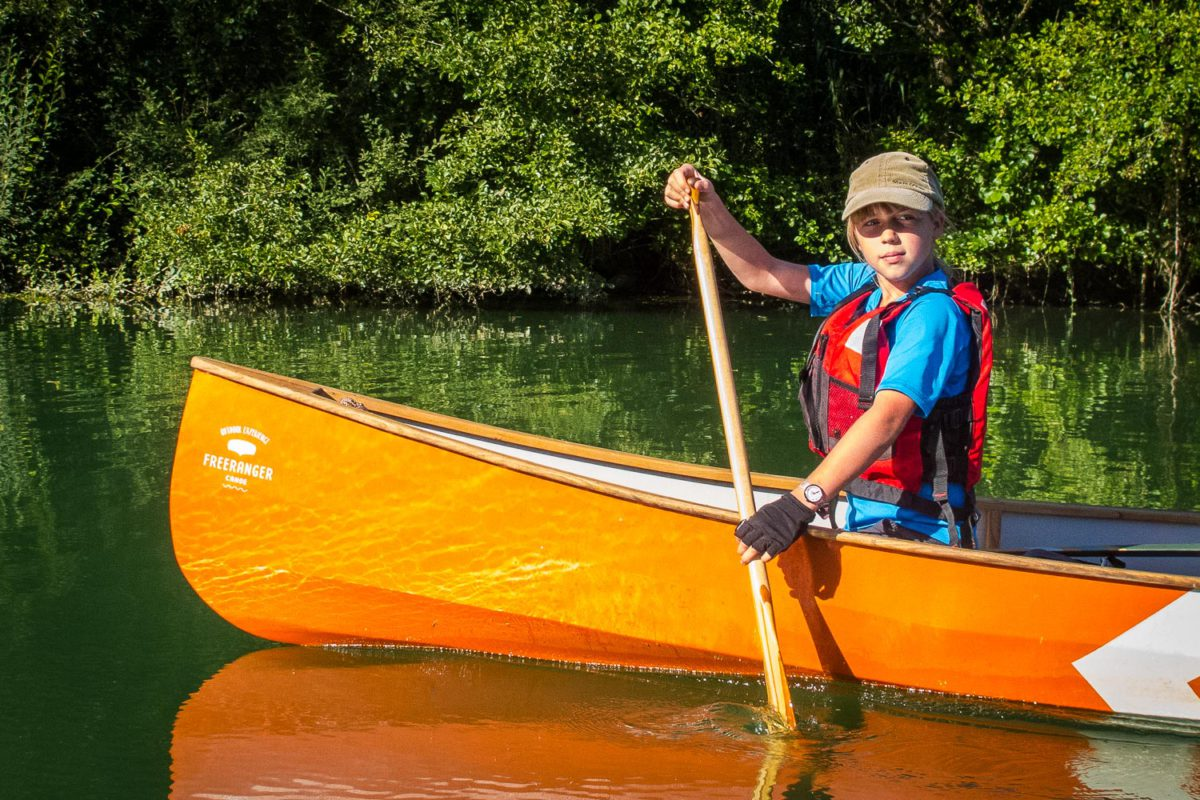 freeranger canoe - learning to canoe