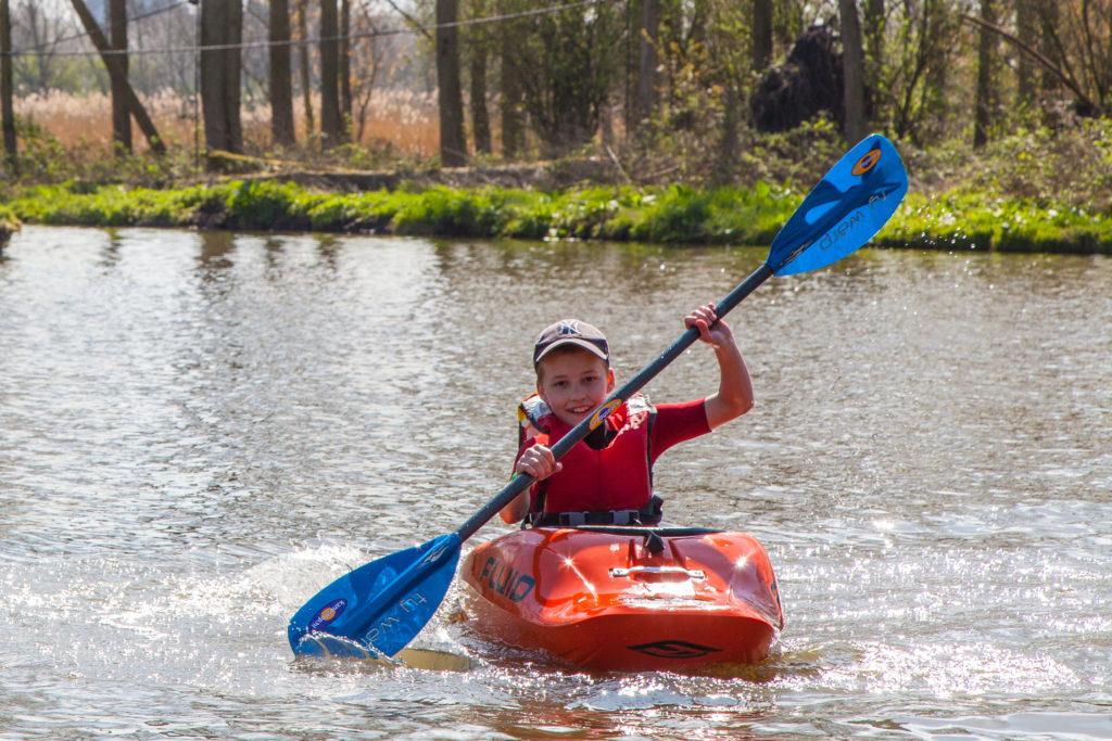 kanovaren met kinderen Freeranger Canoe
