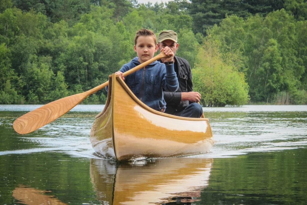 canoeing with children Freeranger Canoe
