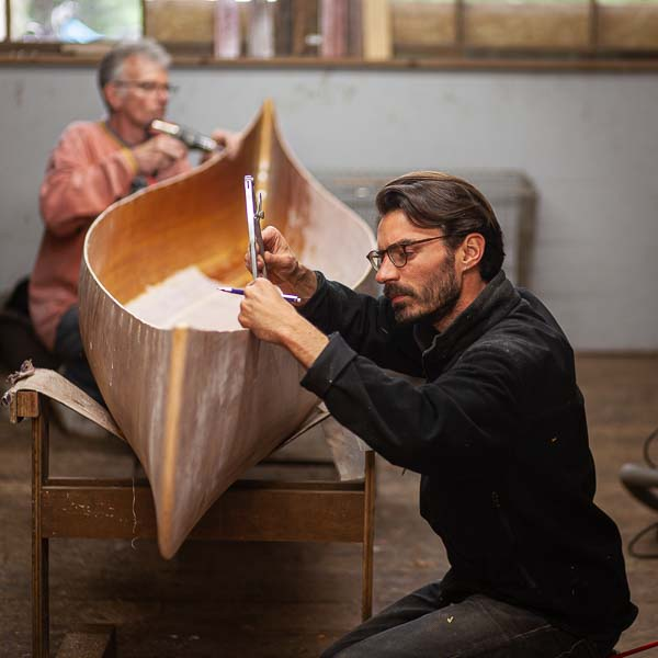 Canoe building workshops