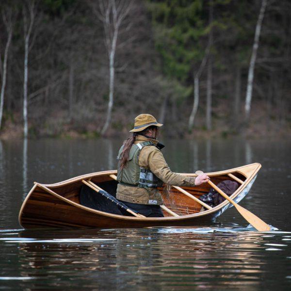 Freeranger Canoe houten kanos chum solo tripkano