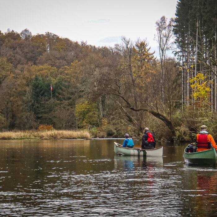 canoe trip on the Semois