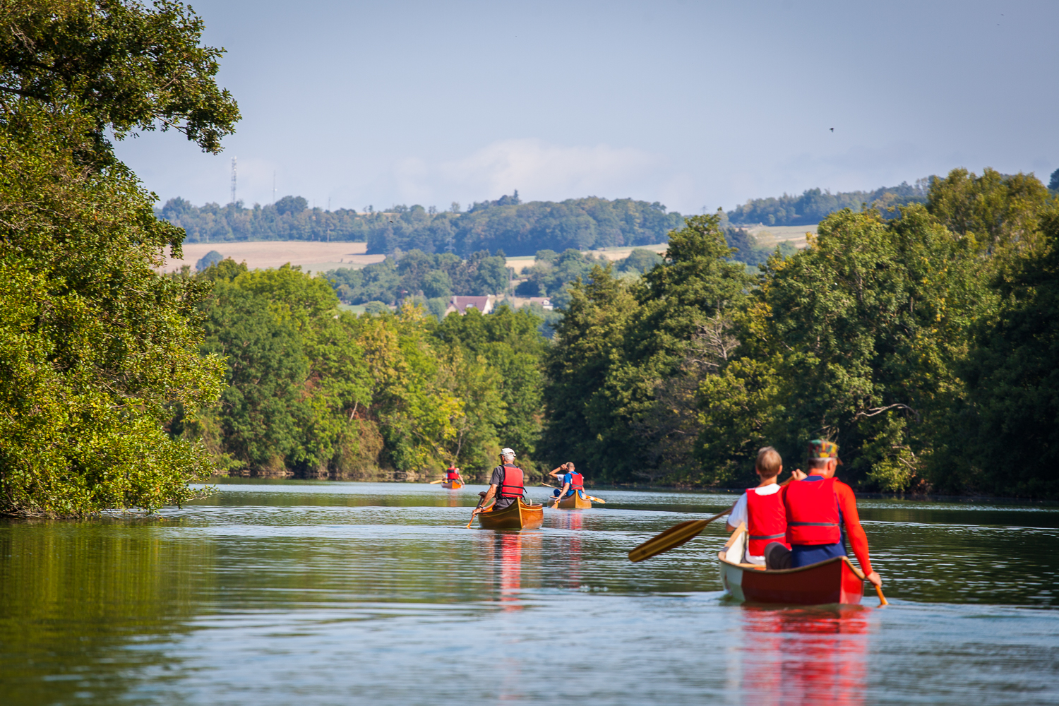 Freeranger canoe guided canoe trips in the ardennes