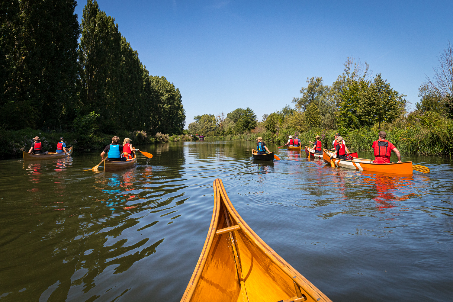 Freeranger canoe guided canoe trips on the Somme River