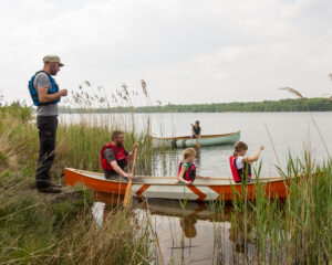 Tandem canoeing introduction course