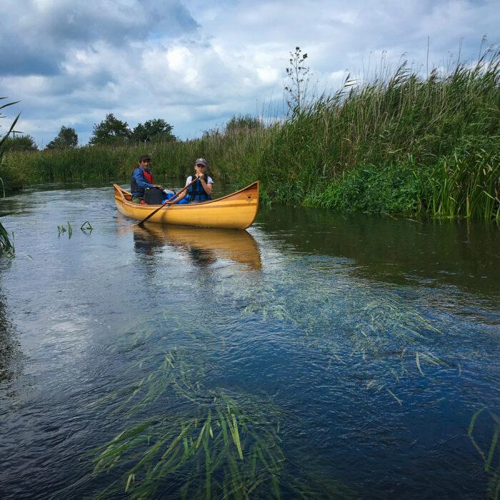 canoeing on the Dommel River