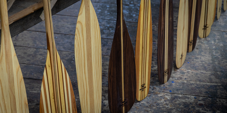 choosing a canoe paddle