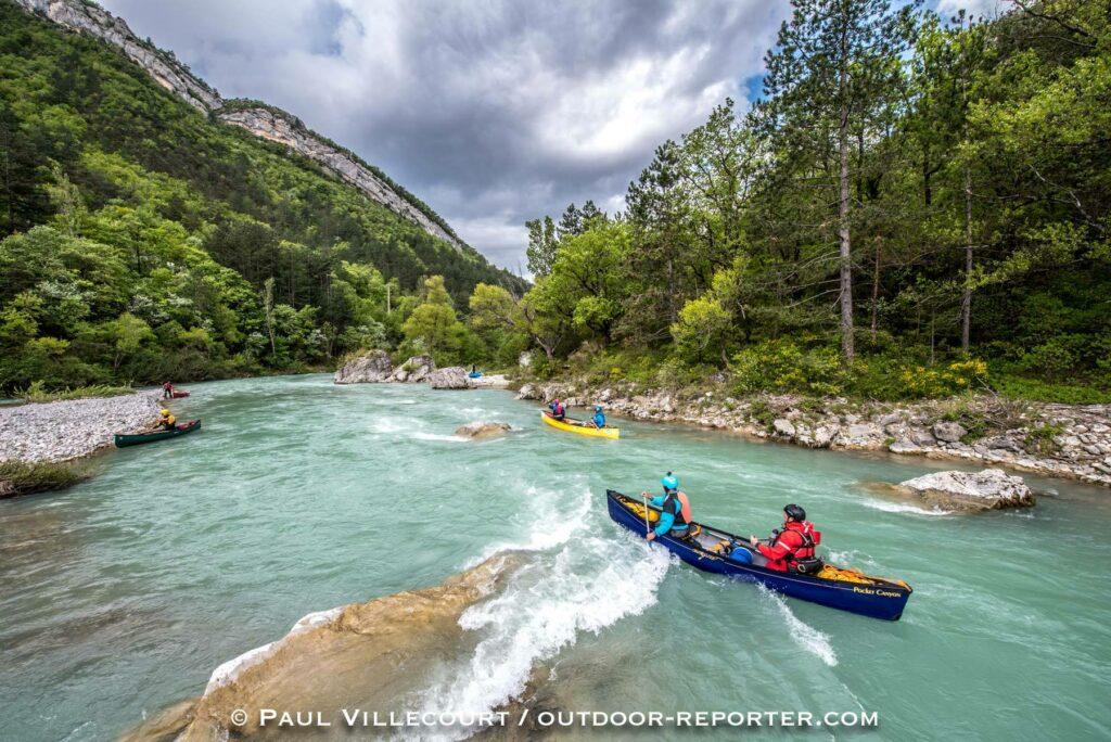 open canoe festival Drôme