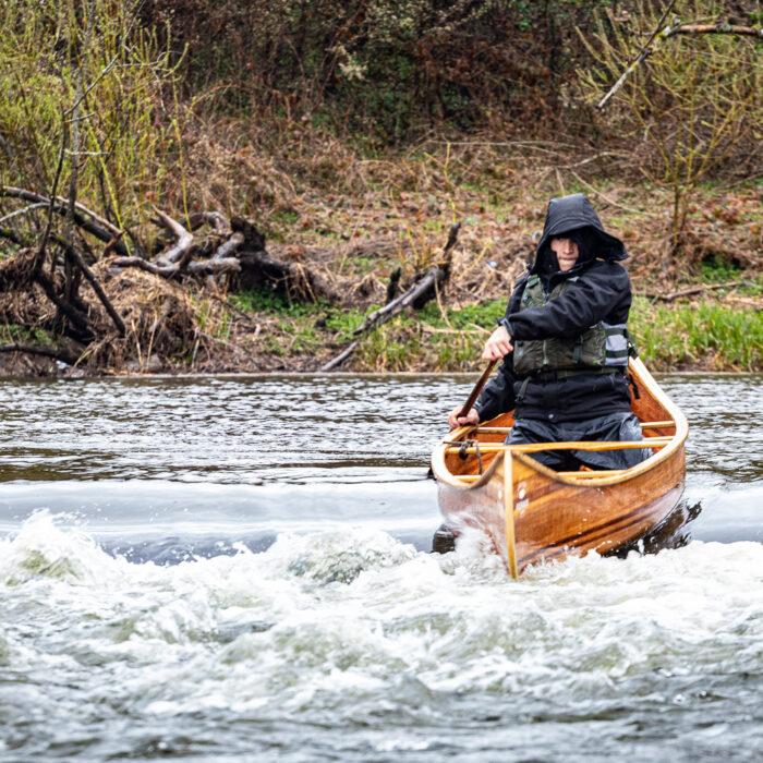 canoe trip on the Semois le canada